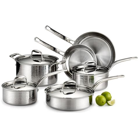 stainless lagostina hammered cookware cooking