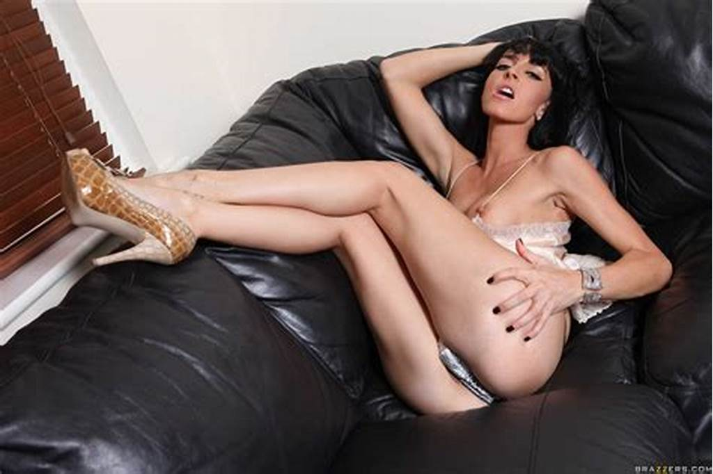 #Lena #Frank #Screws #Her #Boy #Toy #On #The #Couch #And #Shows #Tits