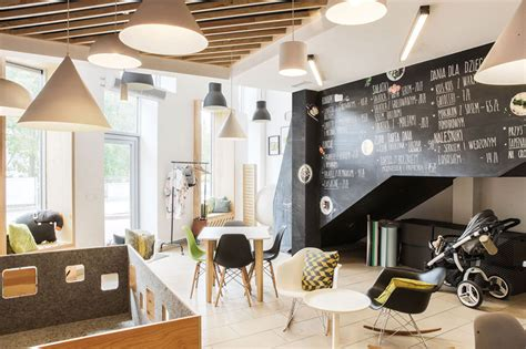 Drop in for the perfect cup of coffee, matcha, chai, kombucha, hot tea or chocolate, or house made lemonade. You can draw on the walls at this coffee shop designed for children   CONTEMPORIST