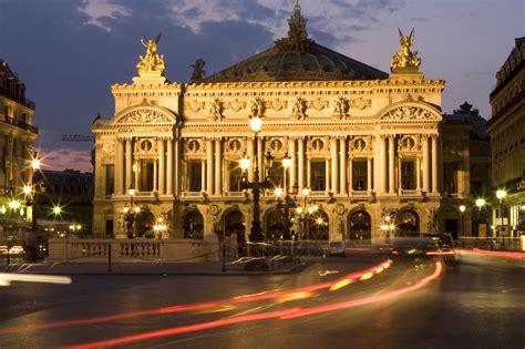 The Palais Garnier opera house.
