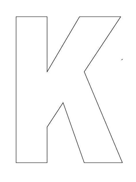 printable alphabet letter k template alphabet letter k 791 | 483d40b1e8e3e878fe7d006dcd1f2666