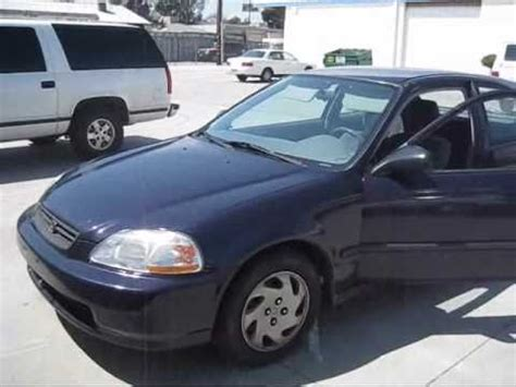 honda civic dx hatchback car  sale youtube