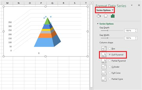 stacked pyramid chart  excel  excel