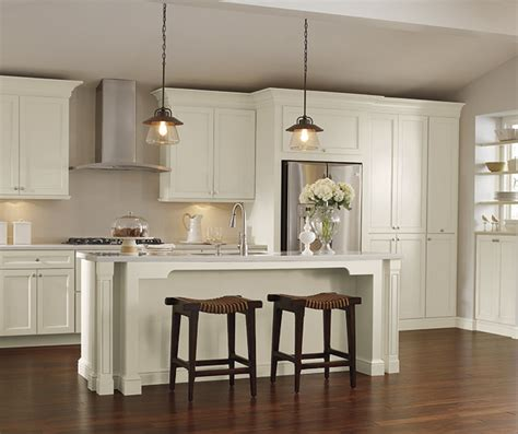 white kitchen cabinets schrock cabinetry