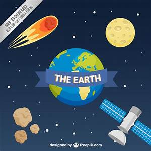 Web background with planet Earth Vector | Free Download