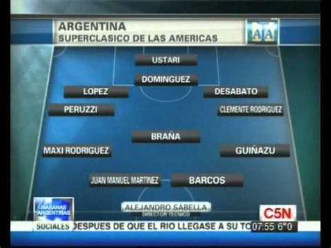 cn futbol asi sera la formacion de argentina