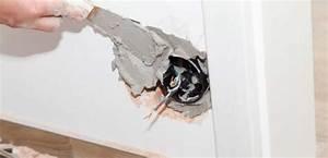 Reboucher Trou Mur Placo : cloison et am nagement travaux bricolage ~ Melissatoandfro.com Idées de Décoration