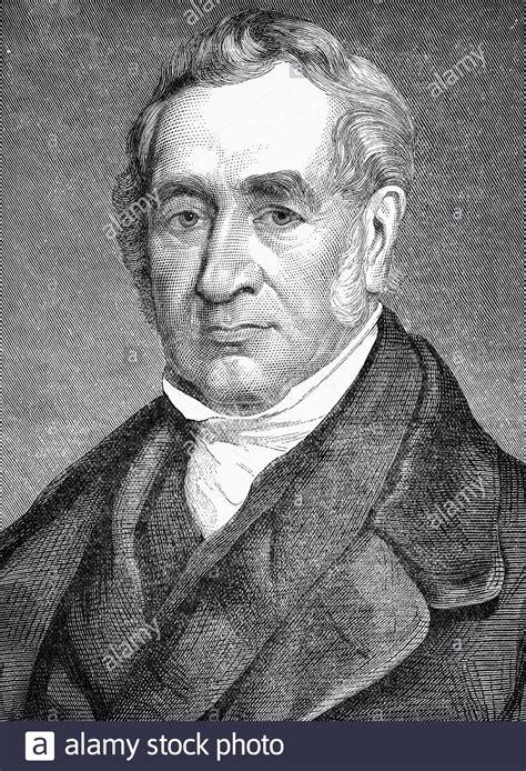 Retrato de George Stephenson (1781 1848) ingeniero civil