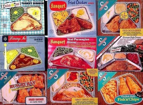 the freeper canteen the which vintage frozen tv dinner