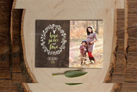 christmas photo cards psd  apple pages