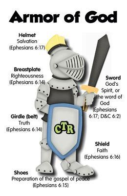armor  god    printable  idea door