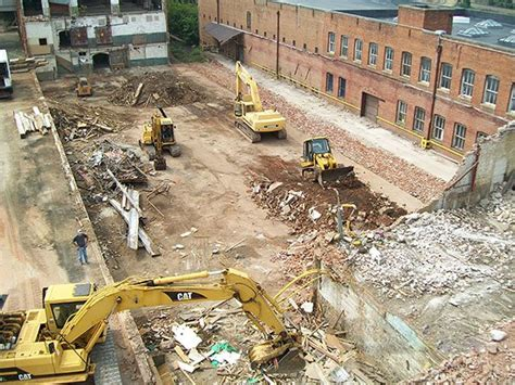 commercial demolition winston salem nc double