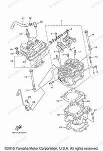 Yamaha Atv 2012 Oem Parts Diagram For Cylinder