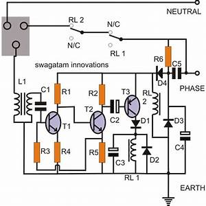 simple earth leakage circuit breaker elcb homemade With circuit breaker panel wiring diagram elcb circuit diagram gfci breaker