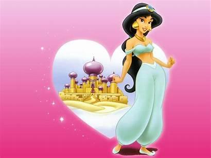 Jasmine Princess Disney Wallpapers Backgrounds Adult Cartoon