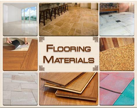popular types  flooring materials   house