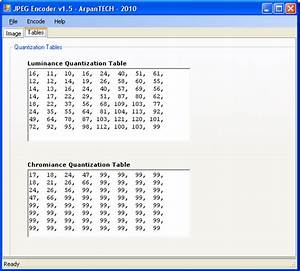 A Simple Jpeg Encoder In C