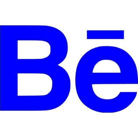 Blue behance icon - Free blue site logo icons