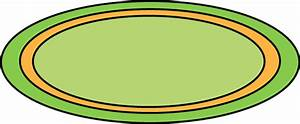 Green oval rug clip art green oval rug image for Green carpet png