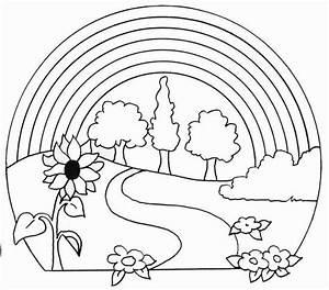 Dibujos relacionados con la naturaleza para pintar