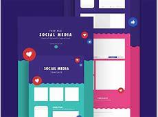 Social Media Templates Facebook & Instagram Mockups