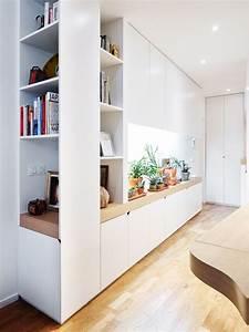 Idee rangement pour l39entree petit jardin interieur dans for Petit meuble rangement pour entree 12 escaliers espace loggia