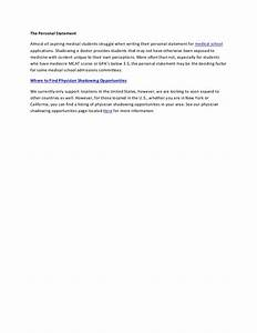 personal statement shadowing doctor literature review With cover letter for shadowing a doctor