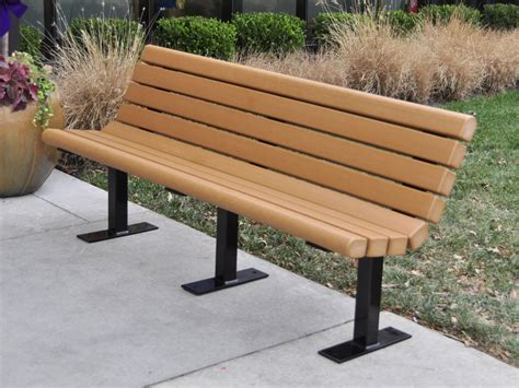 Recycled Plastic Jameson Bench