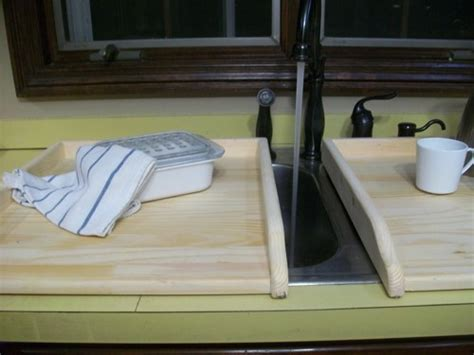 kitchen sink cover board wood kitchen sink covers for twin sink or small stove