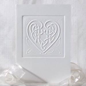 113 best celtic wedding invitations i love With celtic embossed wedding invitations