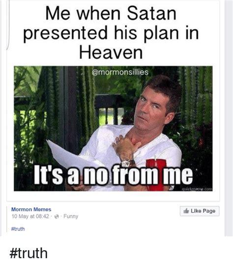 Funny Satan Memes - 25 best memes about mormon memes mormon memes