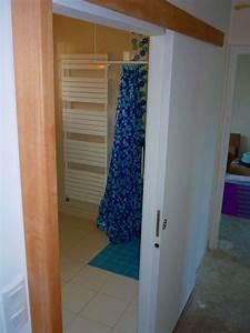 Porte Coulissante Salle De Bain : porte coulissante 22 photo de salle de bain habilit ~ Mglfilm.com Idées de Décoration