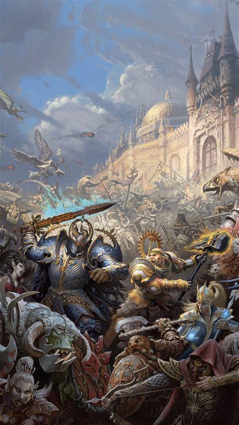 warhammer battle game iphone  wallpapers hd