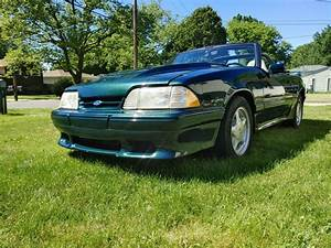 1990 Ford Mustang LX 5.0 Convertible 25th Anniversary 138k Saleen Body kit for sale: photos ...
