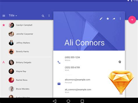 The Best Premium Mateial Website Templates by Material Design Free Sketch Template Icons By Kyle