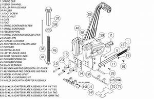 Powernail Model 45 Parts  U0026 Schematic