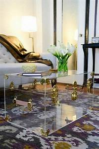 unique coffee tables to highlight decor comfydwellingcom With clear trunk coffee table