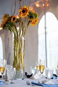 Tischdeko Mit Sonnenblumen : sonnenblumen hochzeit in gelb grau von hockey fans ~ Lizthompson.info Haus und Dekorationen