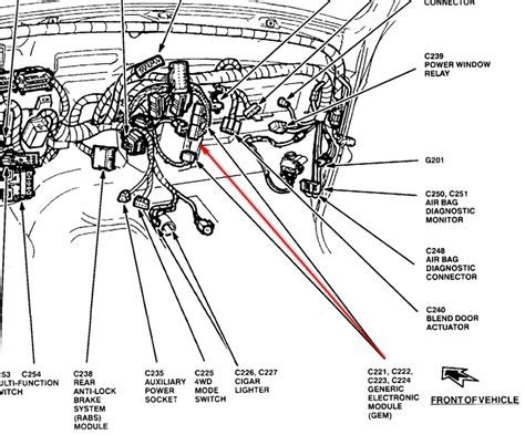 wiring diagram for 1995 ford f350 wiper motor get free