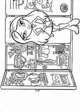 Bratz Coloring Refrigerator Try Pages Something Supercoloring Fun sketch template