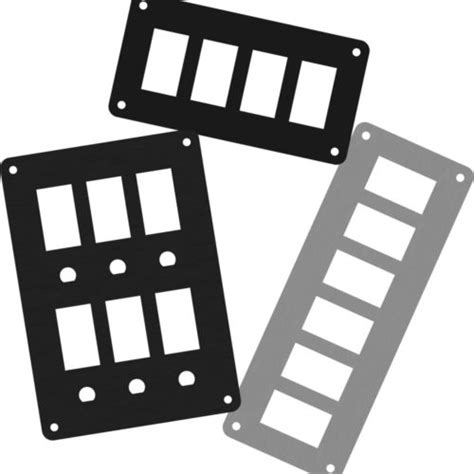 blank switch plates archives  wire marine