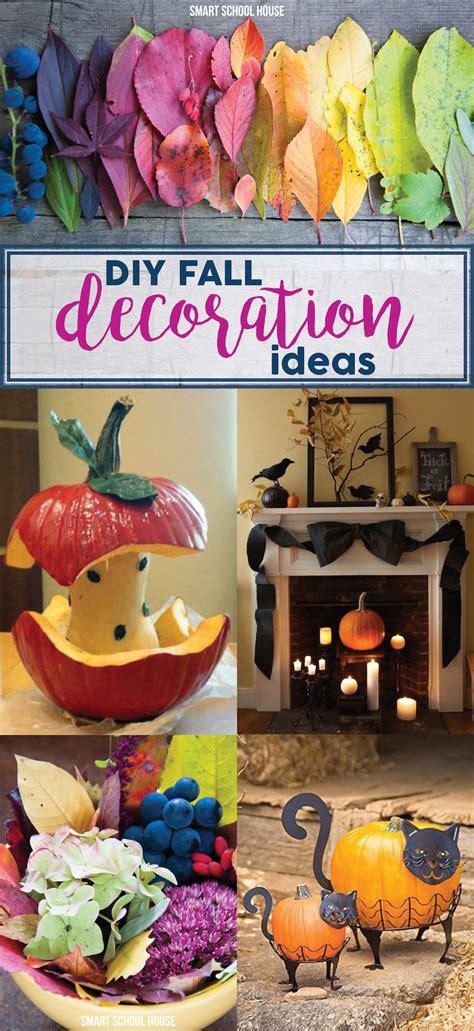 diy fall ideas diy fall decoration ideas smart school house
