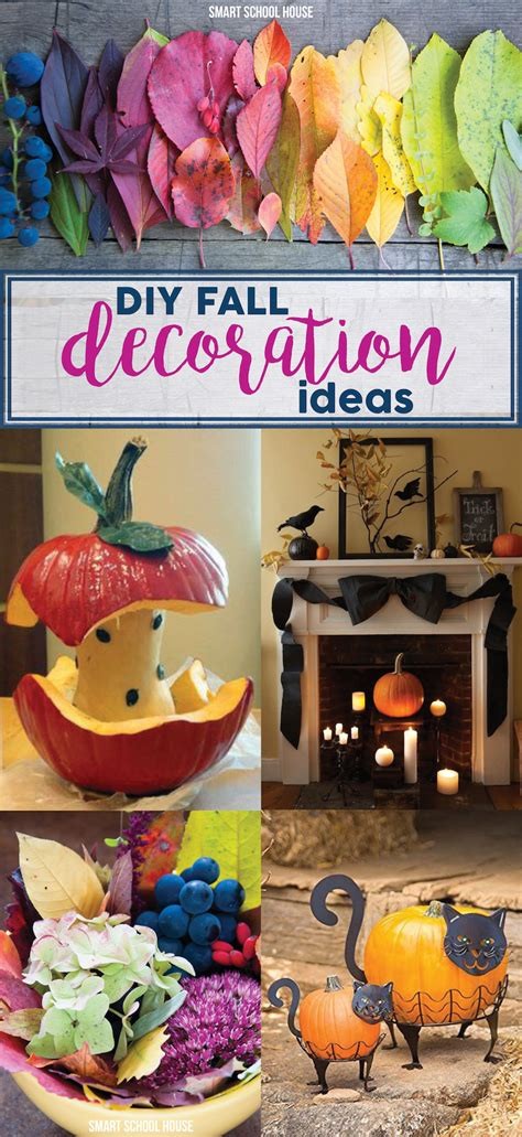Diy Fall Decoration Ideas  Smart School House