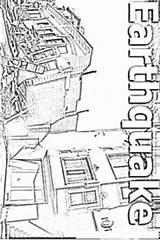 Earthquake Coloring Para Colorear Terremotos Imagenes Terremoto Dibujo Results sketch template