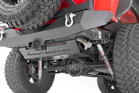 muffler skid plate armor    jeep jk wrangler