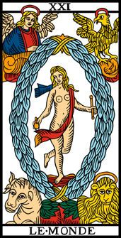 Carte Le Monde Tarot De Marseille by See The Tarot De Marseille Rebuilt By Camoin And