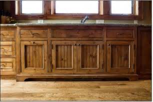 Kitchen Island With Open Shelves Knotty Alder Kitchen Traditional Kitchen Milwaukee By A Fillinger Inc