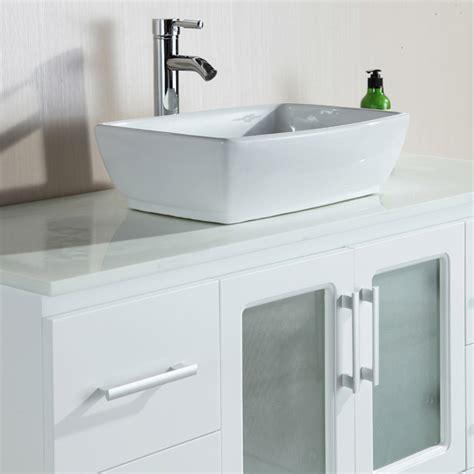 large single sink vanity alexia 48 quot single sink vanity set zuri furniture