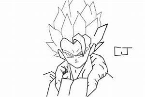 how to draw gogeta - Drawing by cj7845 - DrawingNow