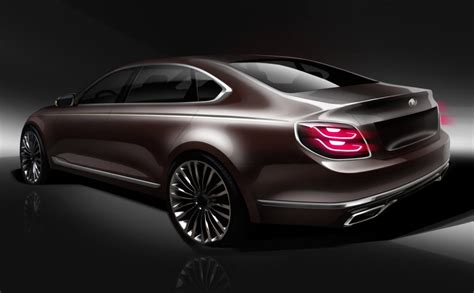 2019 Kia K900 Teased In New Sketches  The Torque Report